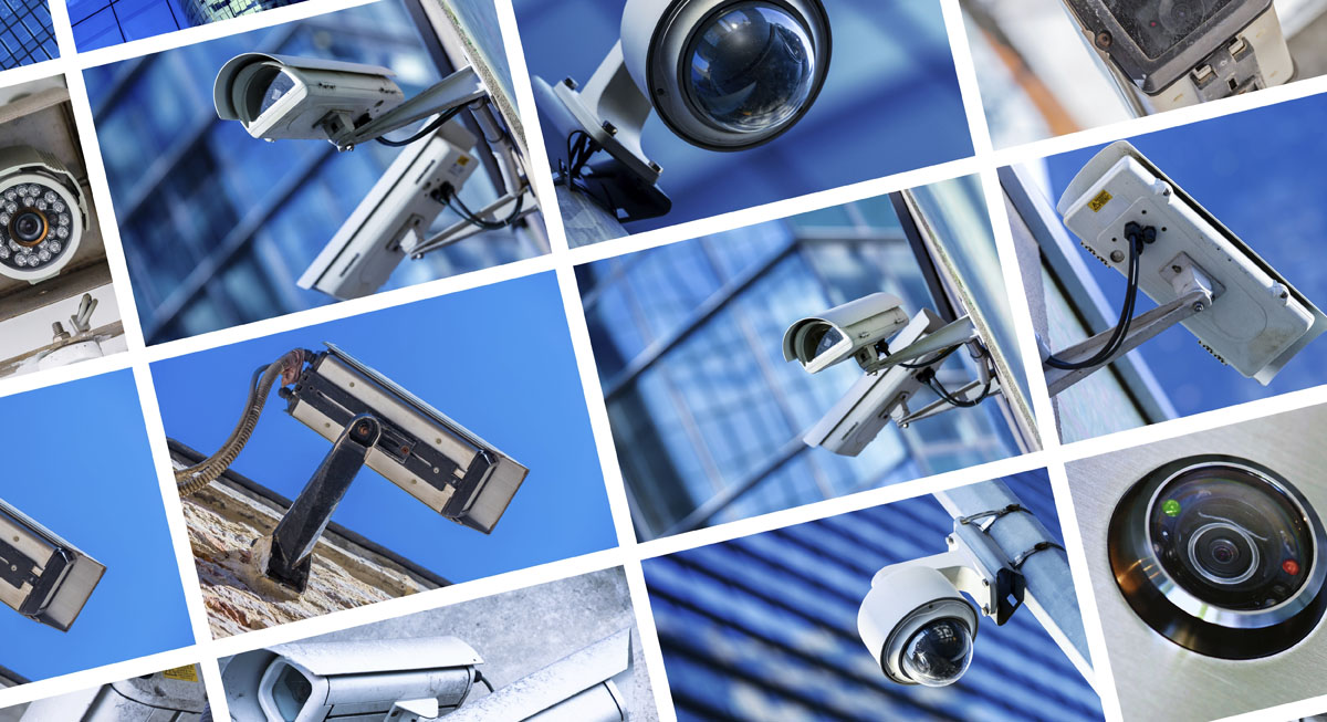Video surveillance for financial institutions