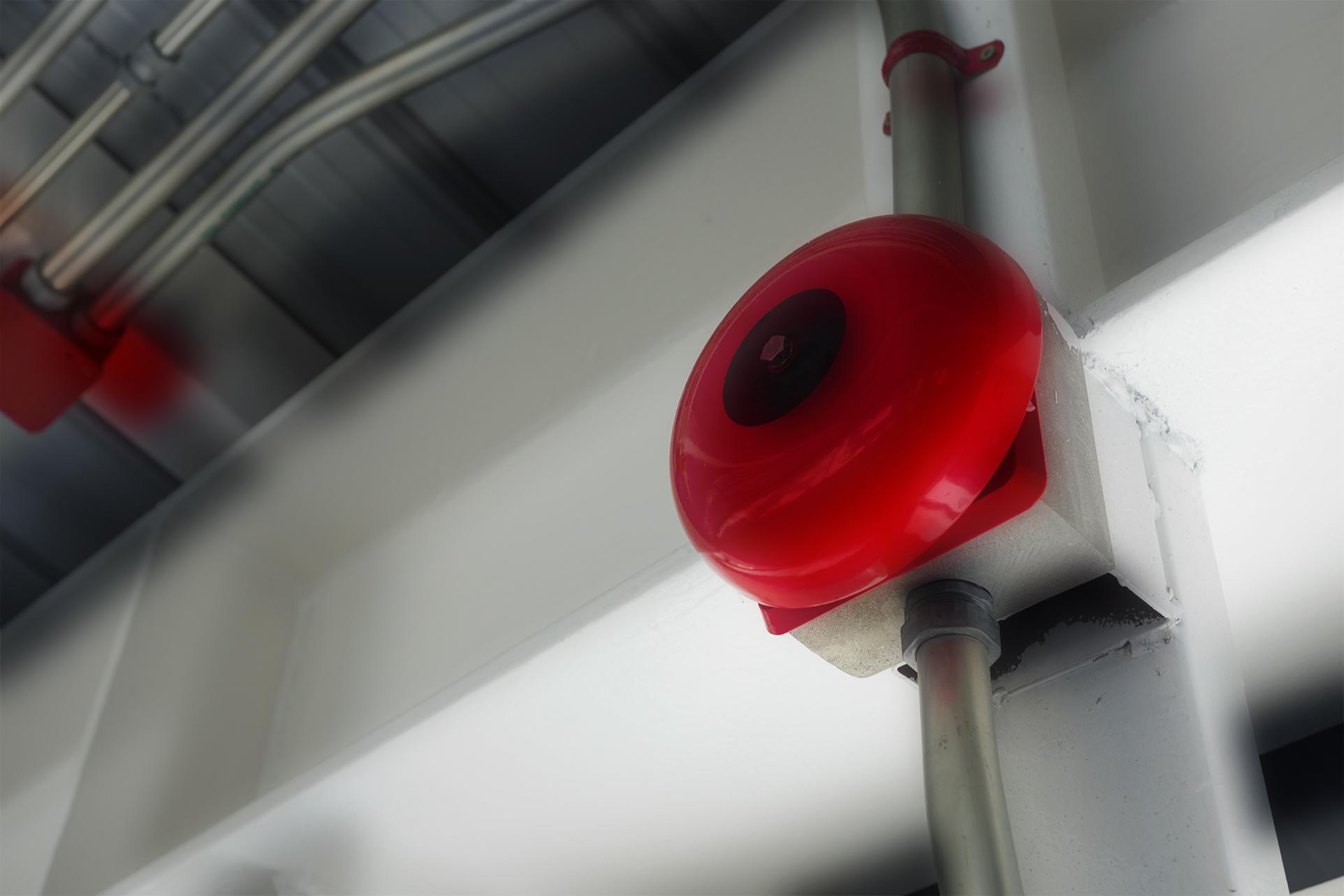 Fire and burglar alarm with Umbrella Technologies