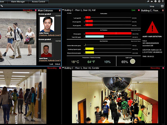 Vape Detection Monitoring Software