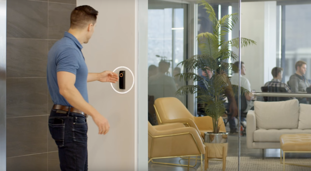 Office building access control systems